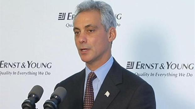 [CHI] Emanuel Speaks Carefully After Occupy Arrests