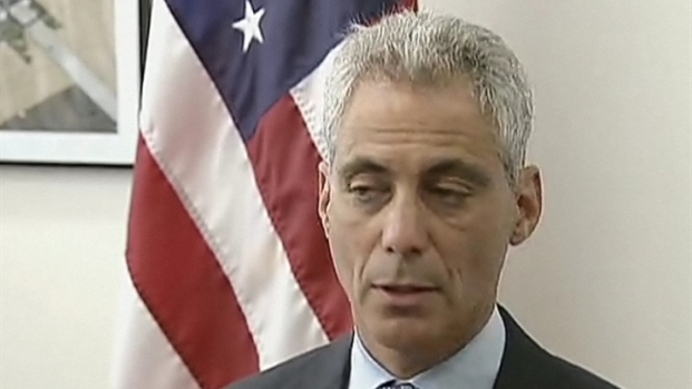 [CHI] Rahm Emanuel Talks About Security for Public Officials