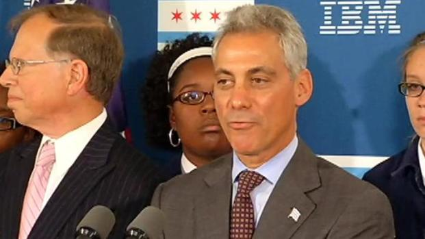 [CHI] Emanuel Scolds City Workers for Absenteeism