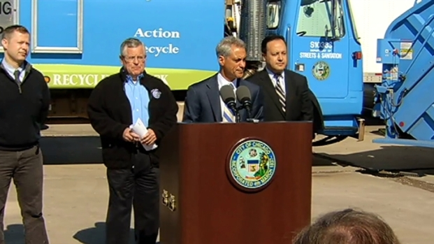 [CHI] Rahm Announces New Recycling Measures
