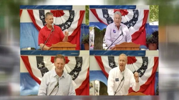 [CHI] GOP Governor Wannabees Appear at State Fair