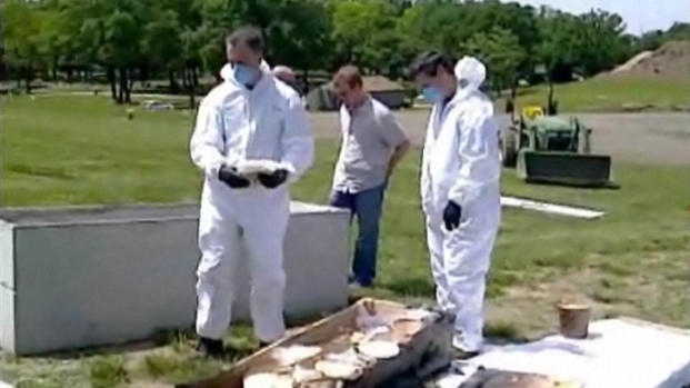 [CHI] Sheriffs Officers Exhume Gacy Victims