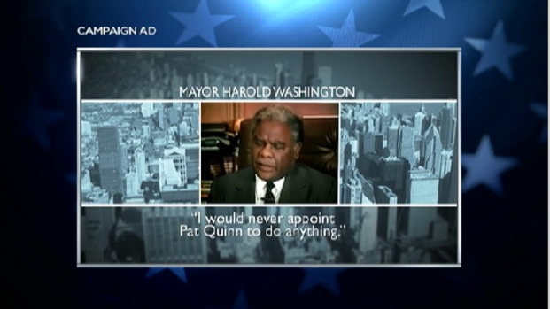 [CHI] Rauner Uses Harold Washington to Attack Quinn