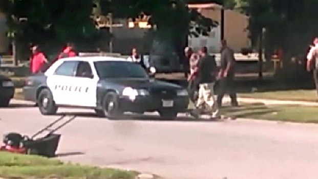 Cell Phone Video Captures Harvey Hostage Arrests