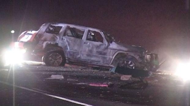 [CHI] Raw: Fiery Crash Closes I-88
