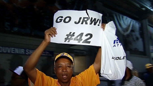 [CHI] Jackie Robinson West Families, Supporters Celebrate in Williamsport
