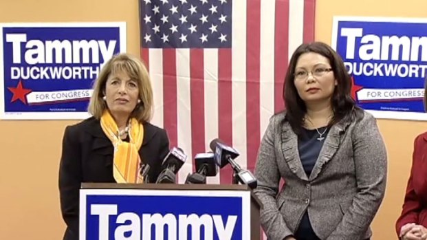 [CHI] Duckworth, California Rep Team for Women's Rights