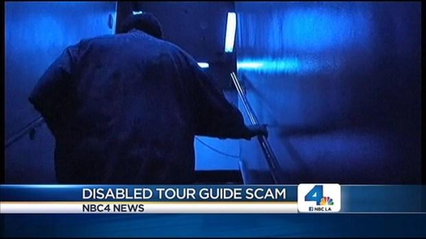 """[LA] """"Disabled Tour Guides"""" Cheat Disneyland Parkgoers"""