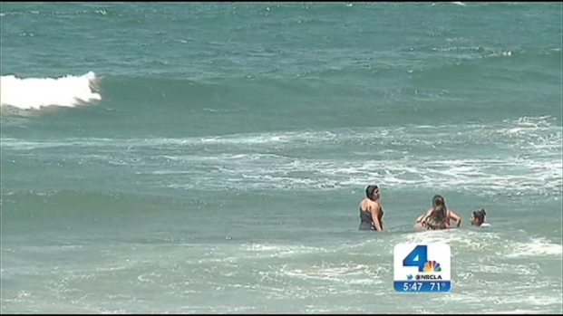 """[LA] Rip Currents """"Can Lift You Off Your Feet in a Moment"""""""
