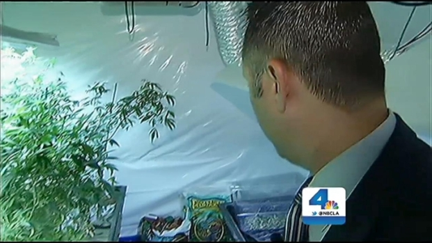 [LA] Cops Bust Indoor Pot Farm