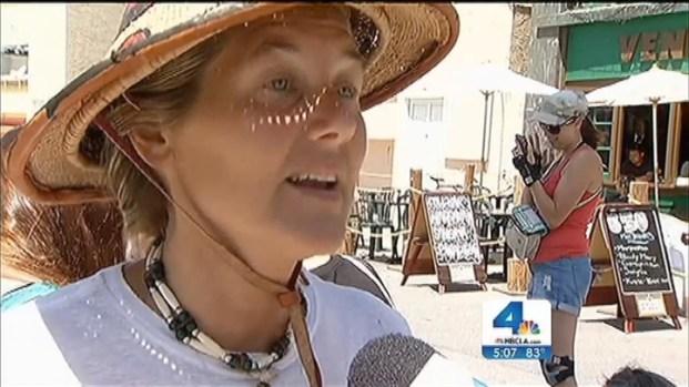[LA] Vigil Held for Victim of Venice Boardwalk Crash