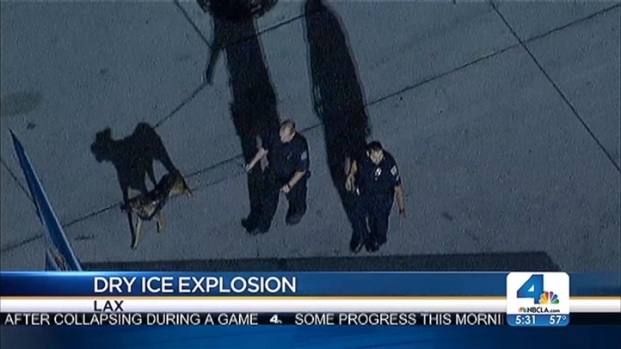 [LA] Dry Ice Bombs Found at LAX 2nd Night in a Row