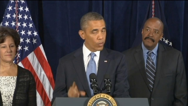 [BAY] Raw Video: Obama Speaks in San Jose About Healthcare Act