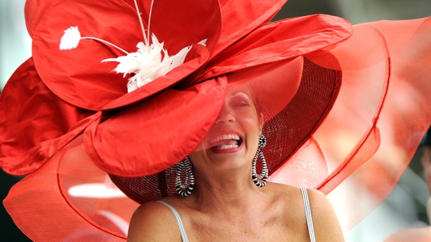 [NATL] Hats Off! Daring Derby Fashion and Drink