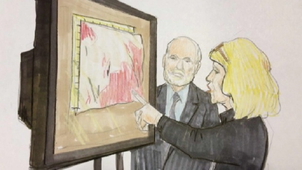 [CHI] Defense Grills Blood Spatter Expert in Kustok Trial