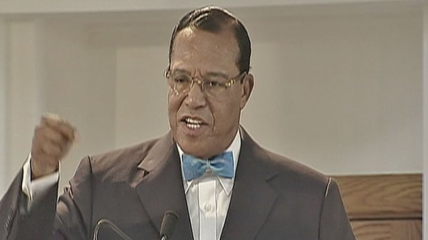 [CHI] Raw: Farrakhan Defends Gadhafi, Warns of Quake