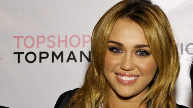 Miley Cyrus Helps Launch Topshop/Topman
