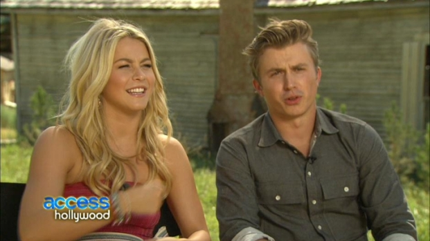 "[NBCAH] Julianne Hough & Kenny Wormald Get ""Footloose"""
