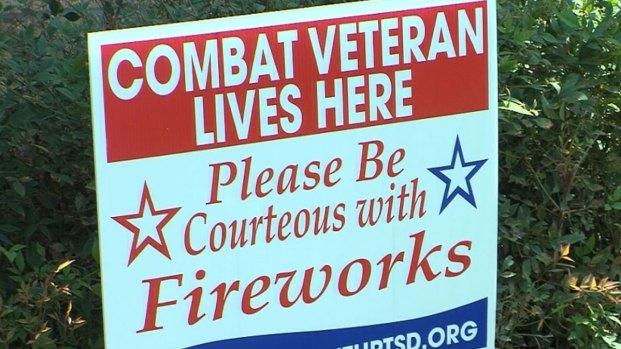 Fireworks Can Trigger PTSD in Veterans