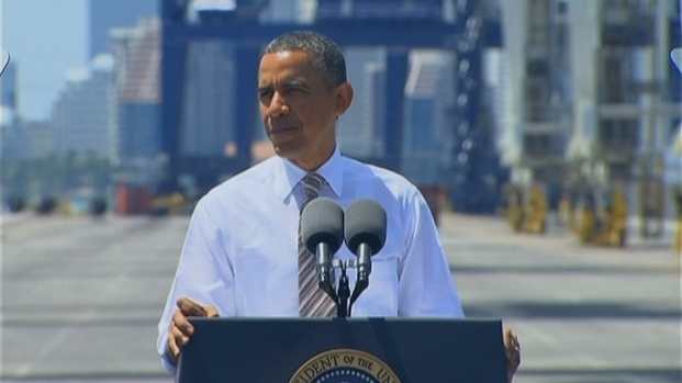 [MI] President Obama Spoke About the Chicago Bulls and the Miami Heat