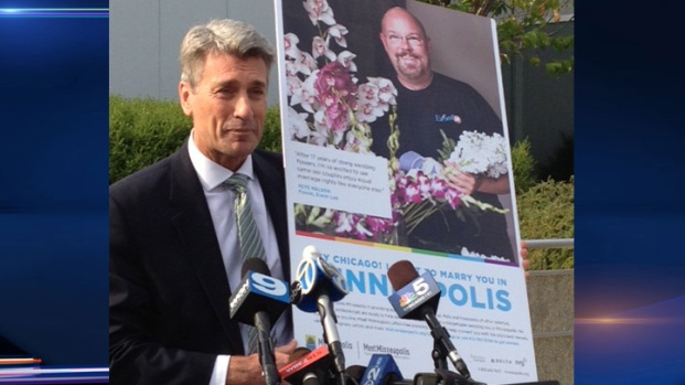 """[CHI] Mayor Unveils """"I Want To Marry You In Minneapolis"""" Campaign"""