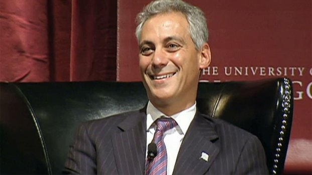 [CHI] Hecklers Bash Rahm at U of C Panel