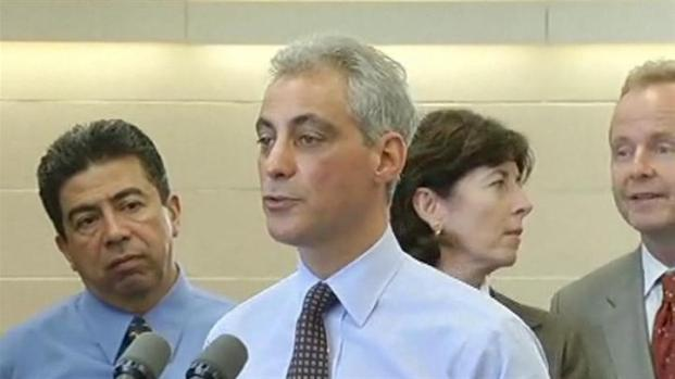 [CHI] Mayor Rahm Amused by Casino Questions