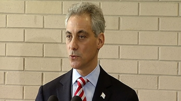 [CHI] Mayor Responds to Protest Outside His Home