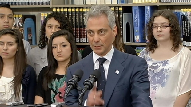 [CHI] Emanuel: Our Streets Don't Belong to Gangs