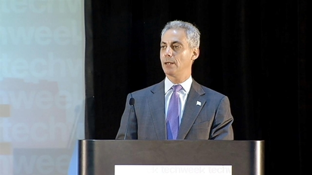 [CHI] Rahm Throws Full Support Behind Startups at Techweek