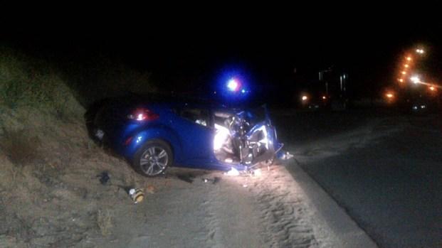 Father, Daughter Injured in Head-On Ramona Crash