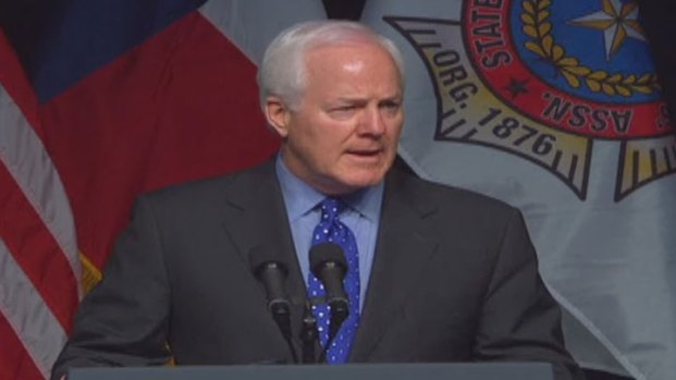 [DFW WEST]Memorial: Sen. John Cornyn Speaks at West Memorial