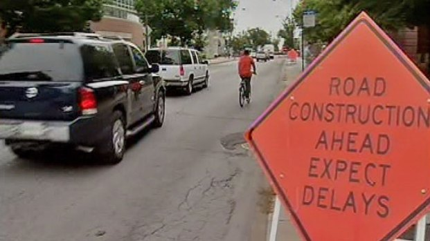 [CHI] Portion of Sheridan Road Under Construction for One Month