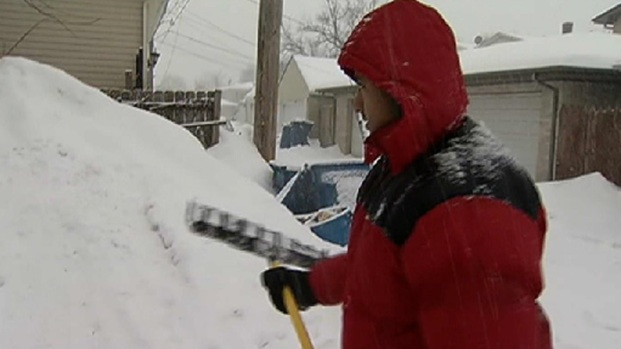 [CHI] Homeowners Struggling To Find a Place to Put Snow