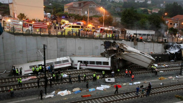 Dramatic Passenger Train Crashes