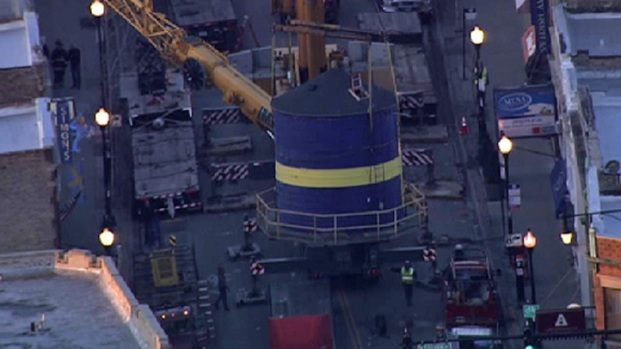 [CHI] RAW: Watch Swedish Museum Water Tower Come Down