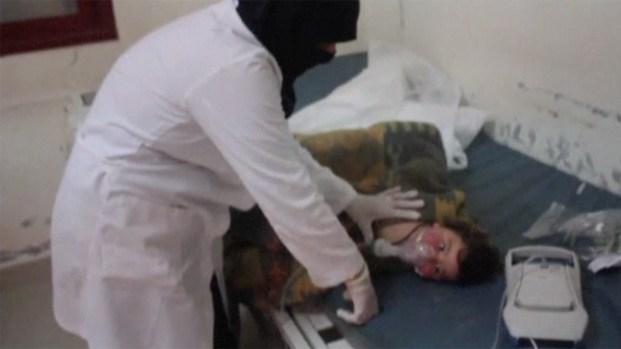 [NATL] Syrian Children Die in Suspected Gas Attack