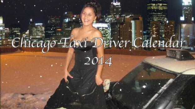 2014 Chicago Taxi Driver Calendar