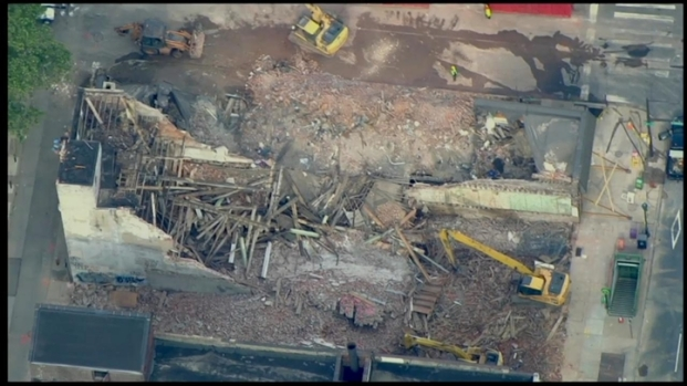 [PHI] SkyForce10: Aerial Views of Building Collapse Site