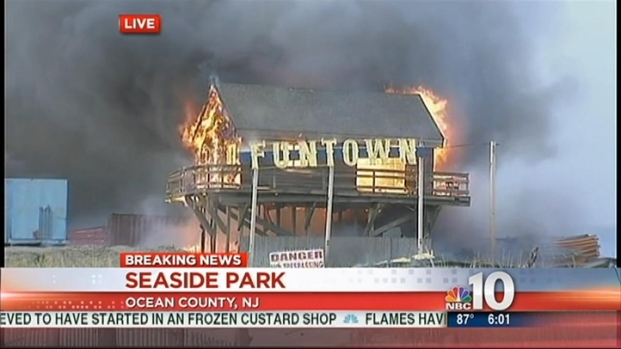 [PHI] Flames Tear Through Funtown Pier