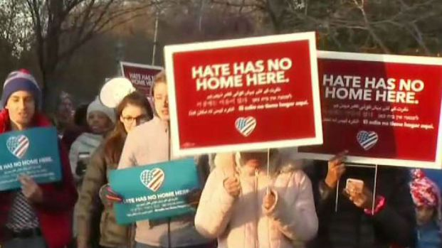 Students March Against Hate After Racially-Charged Incidents