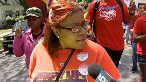 [CHI] CTU Holds March, Rallies Against CPS Closings