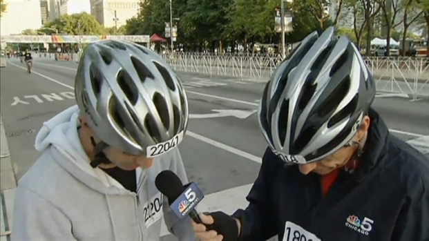[CHI] NBC Chicago Team Pedals for Bike the Drive