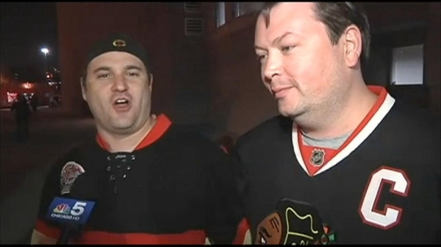 [CHI] Hawks Fans React to Series-Ending Win