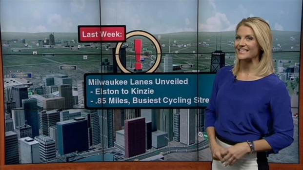 [CHI] Kye's Commute: Protected Bike Lanes