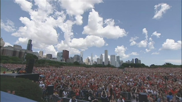 [CHI] Two Million Blackhawks Fans Turn Out For Victory Celebration
