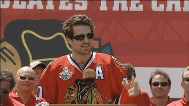 [CHI] Patrick Sharp Wants to Party Again Next Year