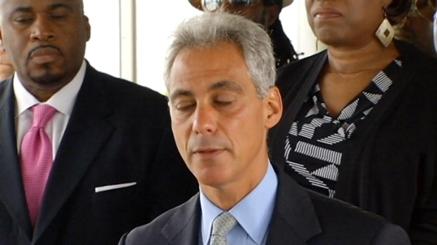 [CHI] Rahm Checks In on Red Line South