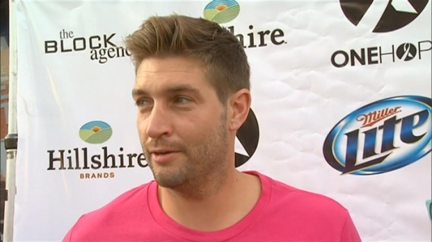 [CHI] Cutler Talks Football, Marriage at '80s Party
