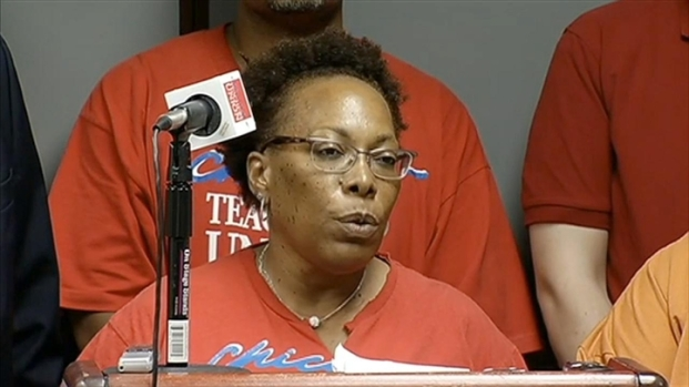 [CHI] Teachers React to CPS Layoffs